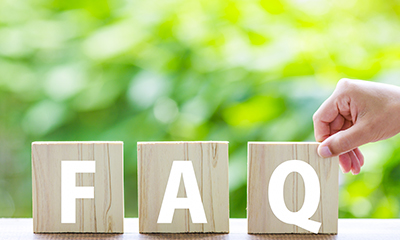 お客様から多く寄せられる質問と回答